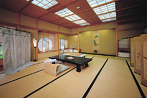A Japanese-style room